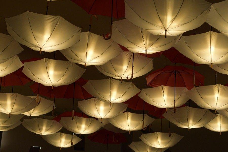 knutyy:  Umbrella lamps by LucioFerrao