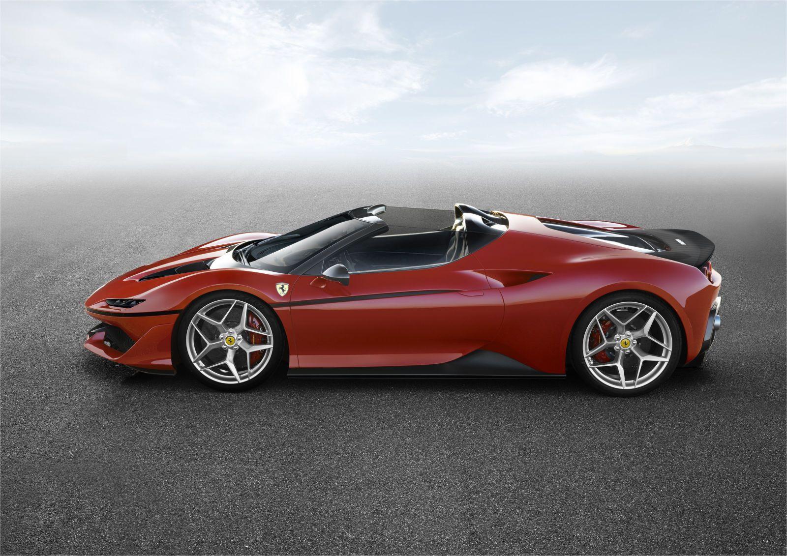 The J50 Is Ferrari S Latest Ultra Limited Supercar Ferrari Car Bespoke Cars Super Cars
