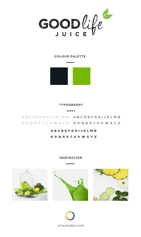 Branding Good Life Juice Array Web Creative Nanaimo Bc Branding Design Creative Agency Inspiration With Images Web Design Marketing Agency Design Development
