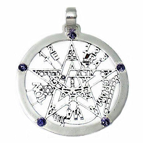 Wicca Protección Amuleto Cufflinks