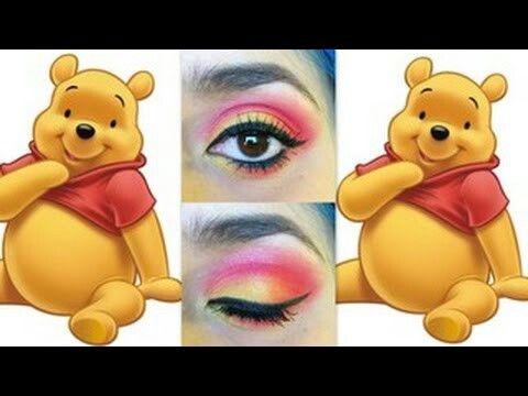 1e32b5f72032 Pooh eyeshadow.