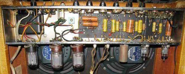 Fender Bassman 5F6-A, chassis photo | Amplifier Restorations