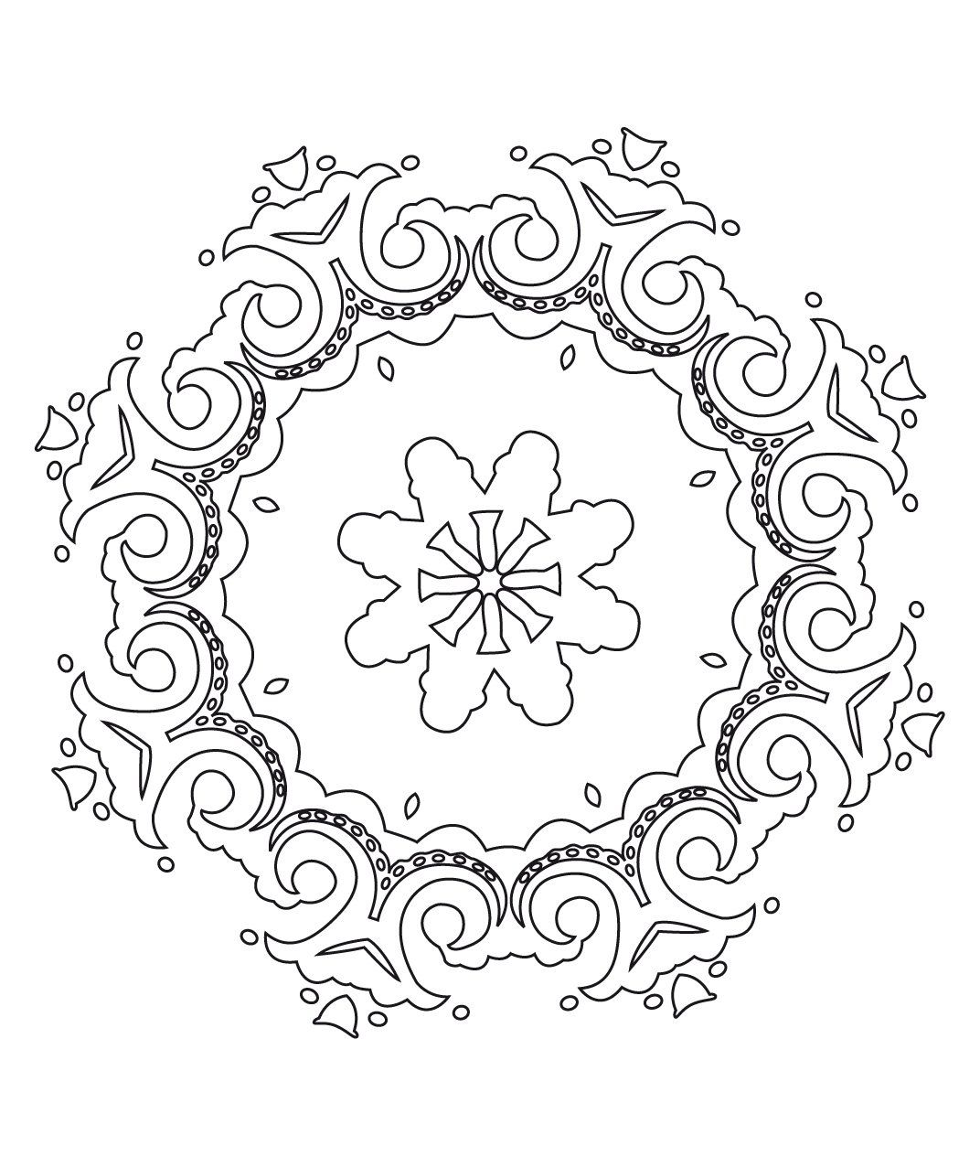 stci coloriage pour adultes et enfants mandalas colorier pinterest. Black Bedroom Furniture Sets. Home Design Ideas
