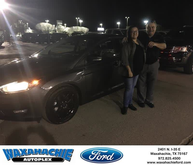 Waxahachie Ford Customer Review  Thank you JT my new focus is awesome my first car I love it.  JACQUELIN , https://deliverymaxx.com/DealerReviews.aspx?DealerCode=E749&ReviewId=55656  #Review #DeliveryMAXX #WaxahachieFord