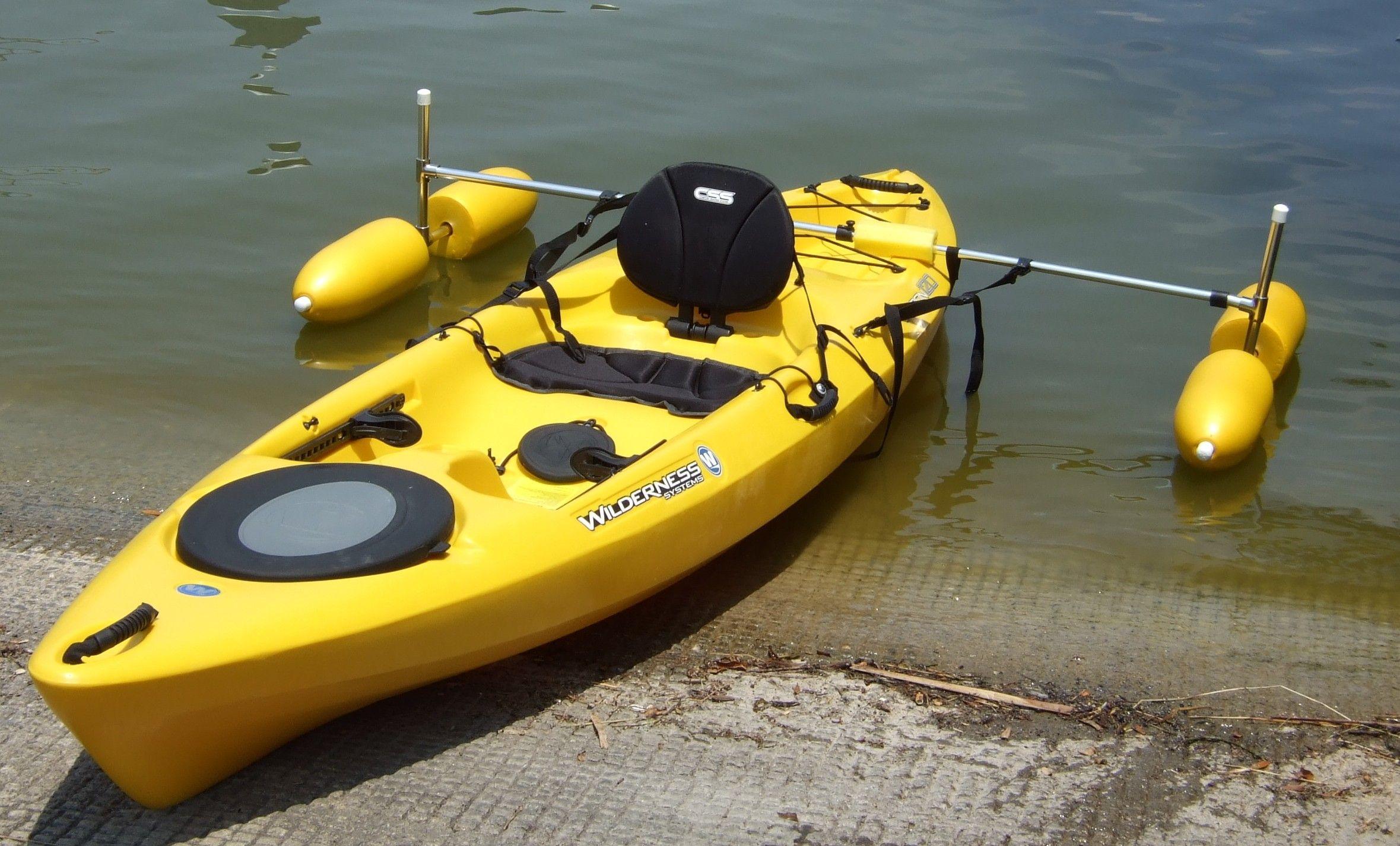 Best Kayak Stabilizers : Key west paddle sports affordable kayak carts paddles