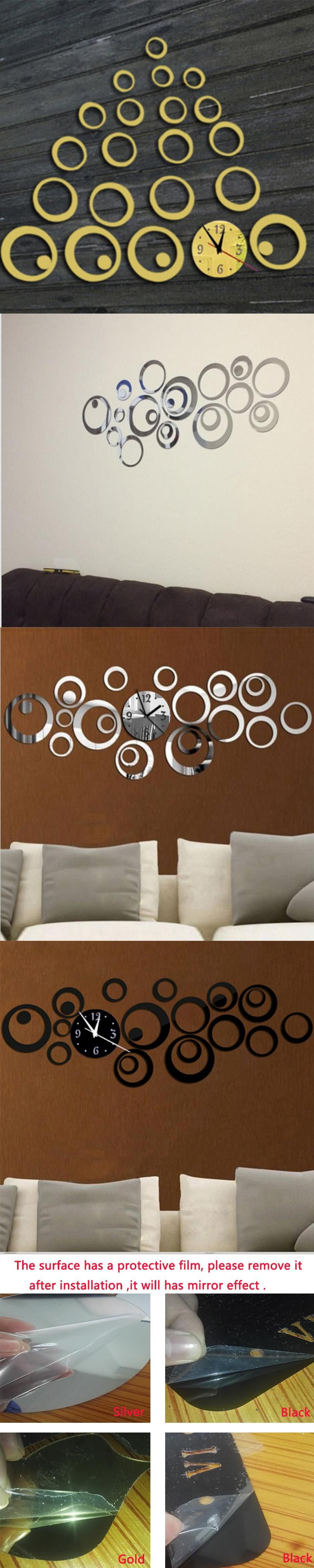 2017 new quartz wall clock modern design reloj de pared large