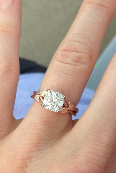 Brilliant Earth On Instagram Would You Say Yes To The Gorgeous Budding Willow Ring Brillianteart Rings For Girls Simple Engagement Rings Engagement Rings