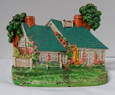 ANTIQUE-CAPE-COD-COTTAGE-DOORSTOP