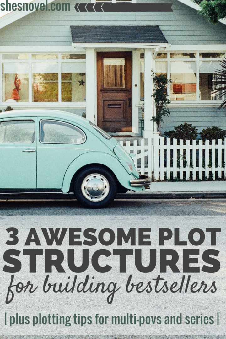 3 Awesome Plot Structures For Building Bestseller (plus plotting tips for multi-povs and series)   She's Novel