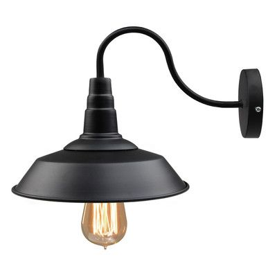 Lnc black gooseneck wall sconce barn warehouse farmhouse light fixtures vintage industrial lamp for indoor living room kitchen island
