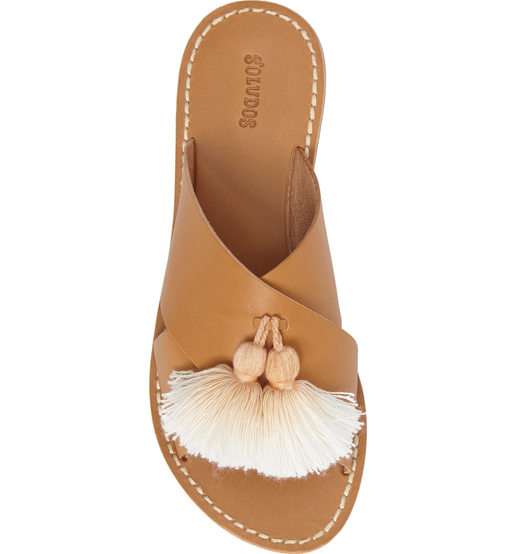 Size 11 - Soludos Tassel Slide Sandal (Women)