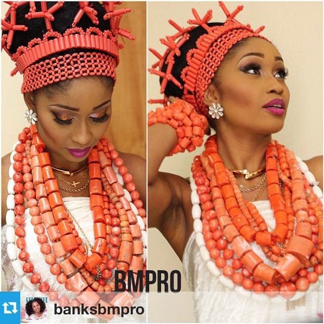 Traditional Nigerian Wedding Gifts: The Coral Beads Of The Niger- Delta