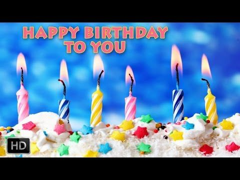 Happy Birthday Song With Candles YouTube Birthday Cakes N - Cake happy birthday song