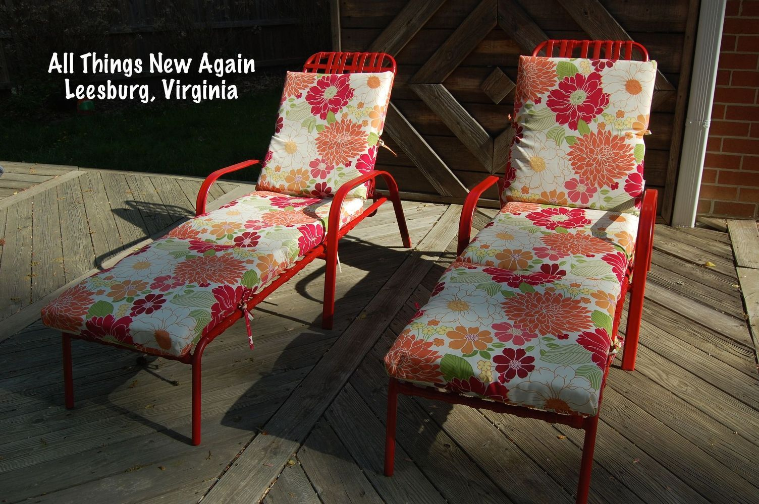 five star backyard seating on a no-tell motel budget | mobili ... - Mobili Da Giardino Idee Dipinte