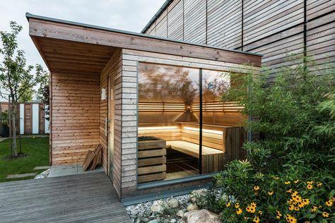 Aussensauna Deisl Gesundes Vertrauen In Holz Saunahaus Garten Sauna Im Garten Aussensauna
