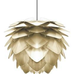 Photo of Umage Silvia pendant light, steel-colored with white UmageUmage suspension