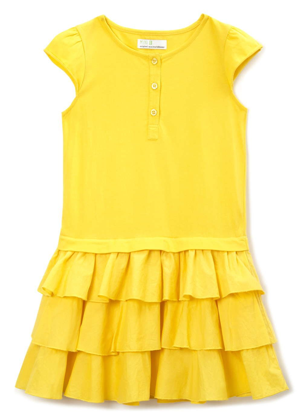 18 month - 8 years - BHS UK Girls Yellow Jersey RaRa Dress £7.20 ...