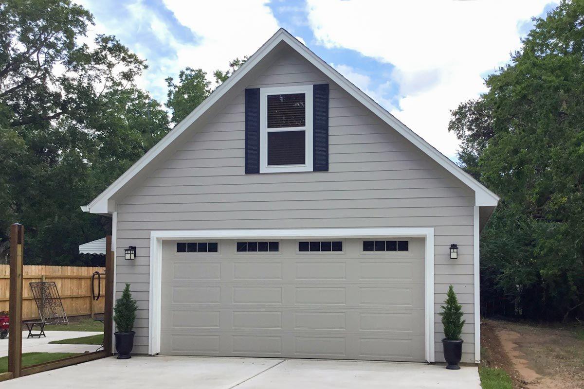Plan 68563VR Detached Garage Plan with Storage Above in