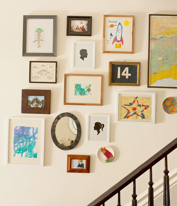 Room Ideas · Mix And Match Frame Sizes And Styles To Create A Gallery Wall  Of Your Own.