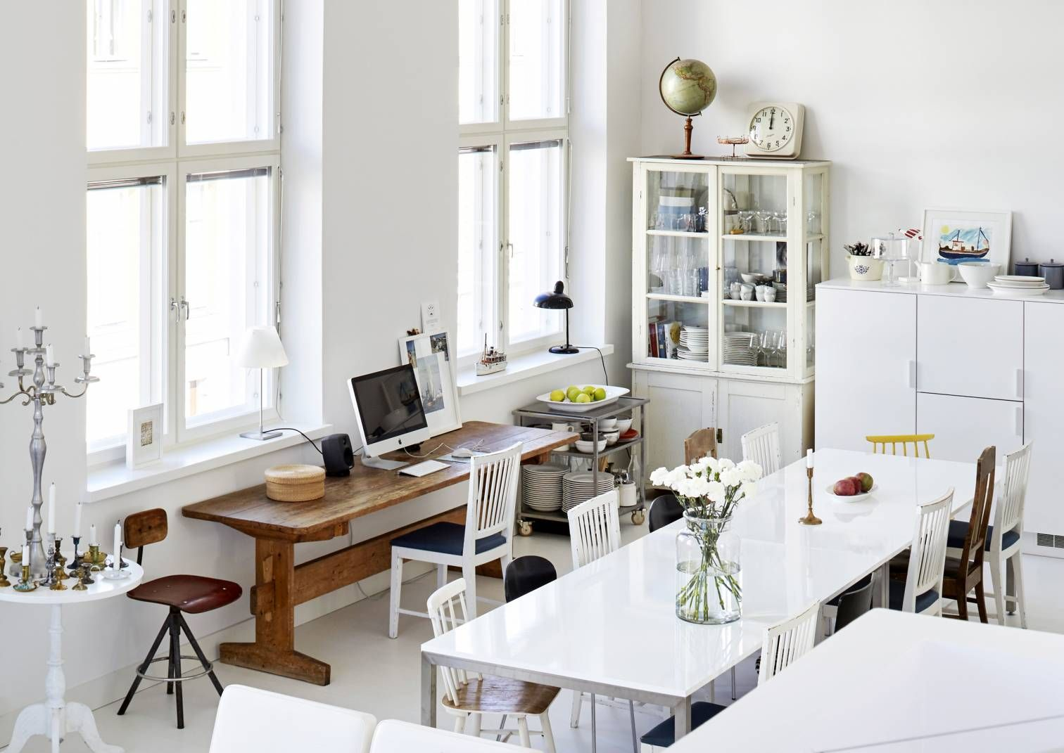 6 reasons to decorate a white   we at home