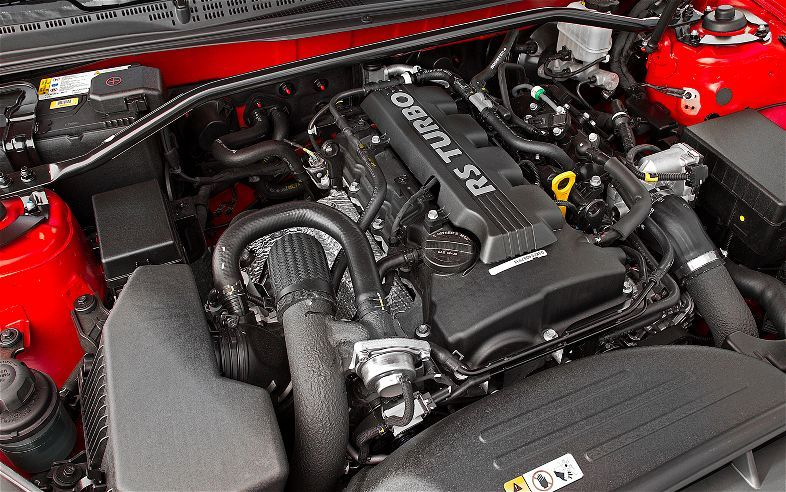 2013 Hyundai Genesis Coupe RSpec Engine