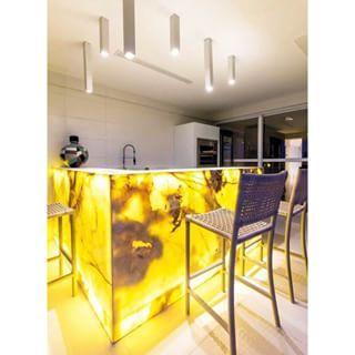 Construindo Minha Casa Clean: Pedra Ônix Iluminada Na Decoração Luxo! Veja  Dicas E Ideias