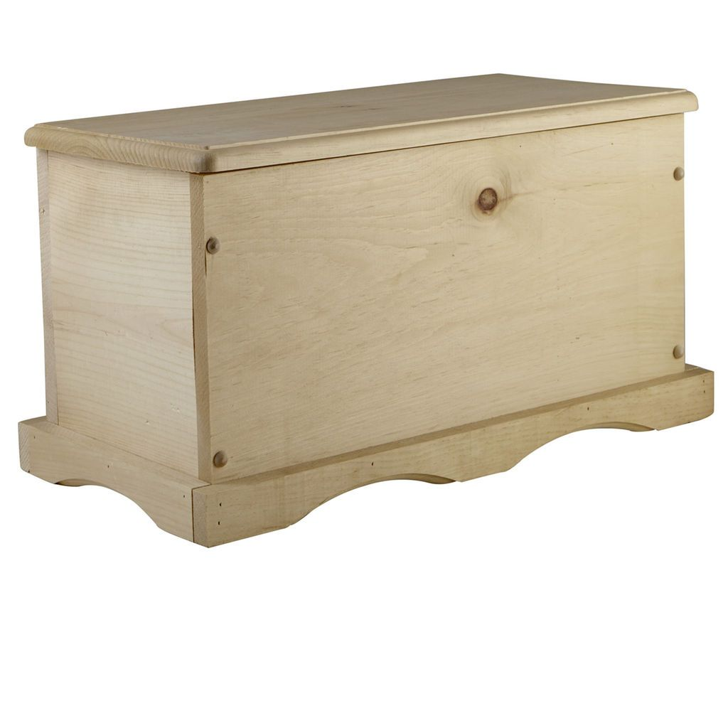Ordinaire The Unfinished White Pine Chest Is Perfect To Accept Paint Or Stain, So It  Can Be Decorated However Your Heart Desires. It Will Last A Lifetime And  Also Be ...
