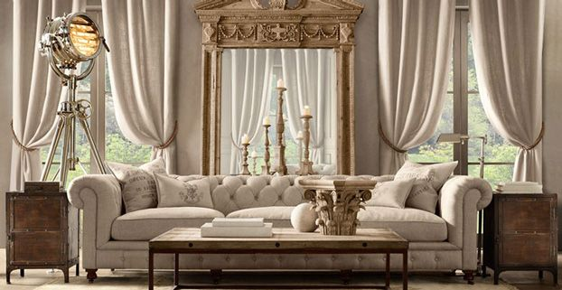 Check Out This Collection Of 10 Best Living Room Furniture Brands. 1.  Restoration Hardware Part 39