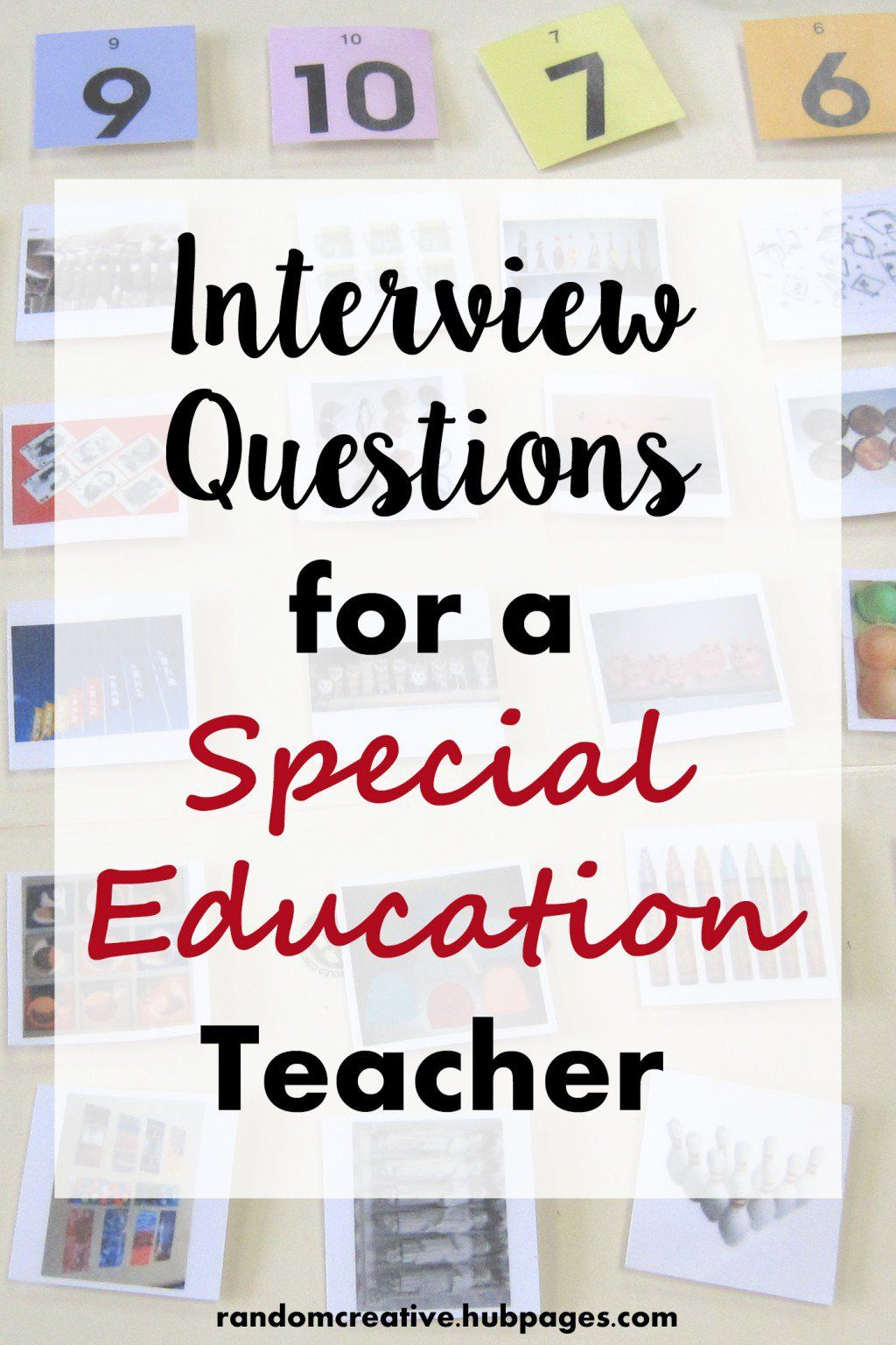 Interview Questions For A Special Education Teacher...questions And Answers  To Help You Prepare For Teaching Interviews! |  Http://randomcreative.hubpages. ...