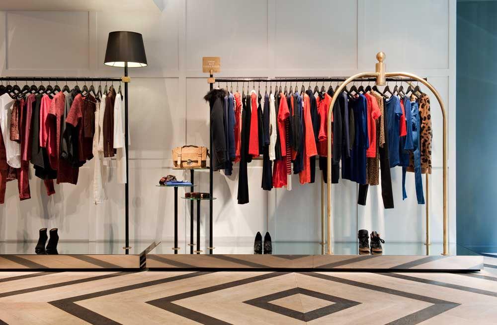boutique paris shop in paris design by agn s cambus manuel bonnemazou. Black Bedroom Furniture Sets. Home Design Ideas