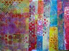 Frieda Oxenham: Having fun with the gelli plate