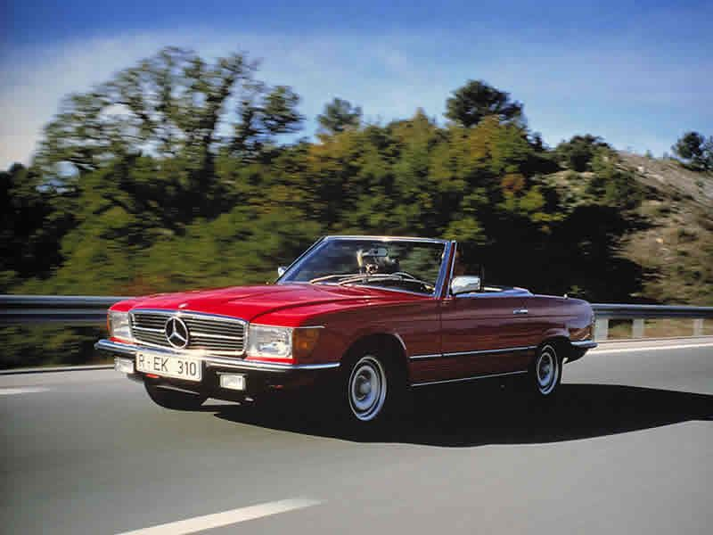 mercedes classic convertible bobby ewings car in dallas. Black Bedroom Furniture Sets. Home Design Ideas