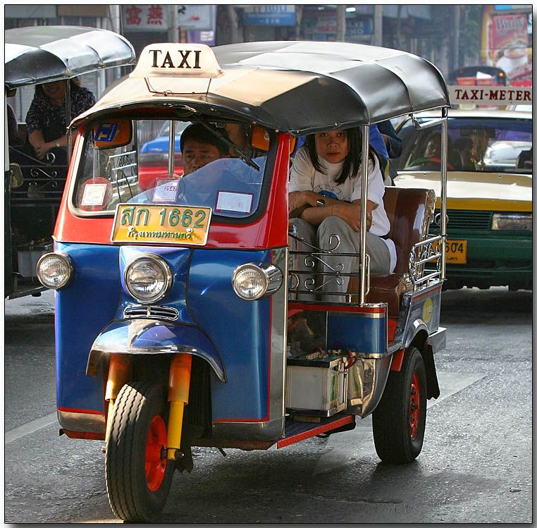 ...Tuk-tuks were an adventure...  You knew the first time you got into one that you had a story, if you lived to tell it.