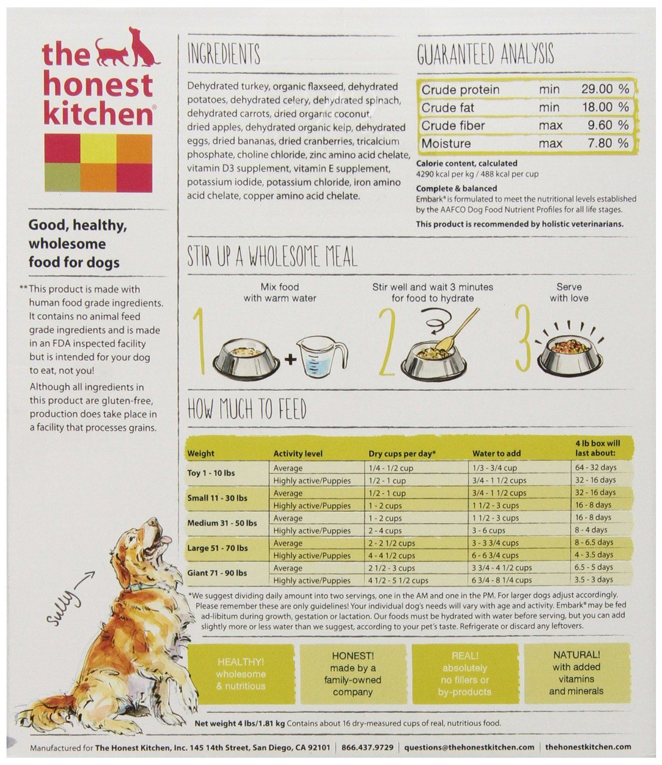 honest kitchen keen corner sinks for sale embark dehydrated food review home co
