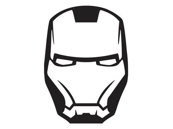 Iron Man Face Mask 2 Vinyl Decal Sup Ml4 4 Via Etsy Iron Man Face Iron Man Tattoo Iron Man Mask
