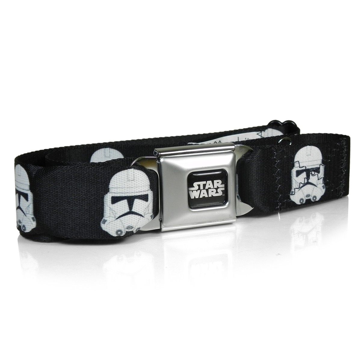 Star Wars Stormtrooper Heads Auto Seatbelt Buckle Strap