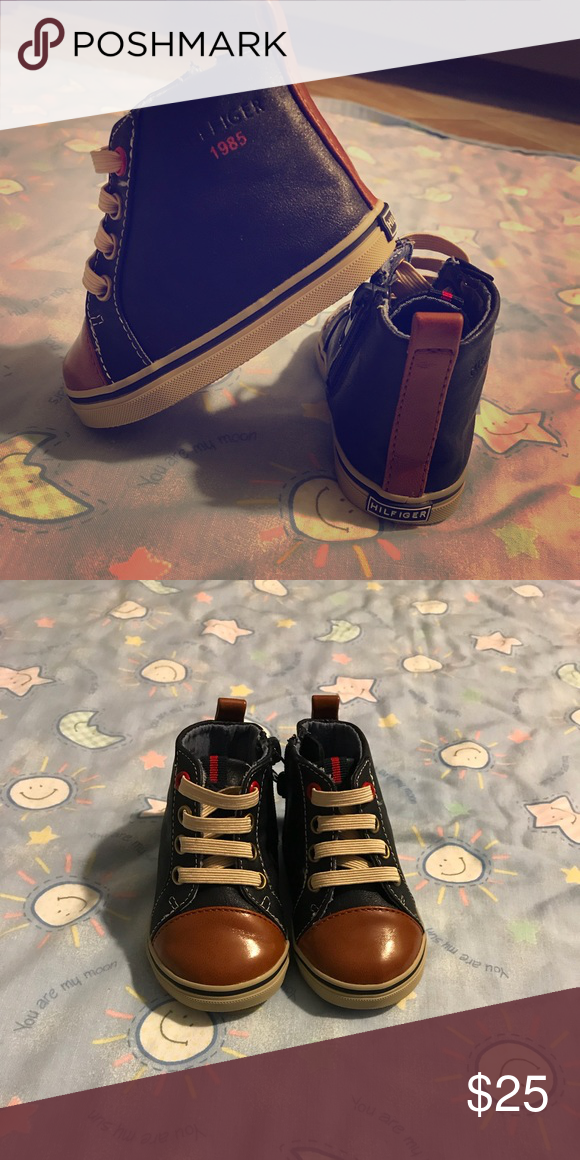 d587d45a Tommy Hilfiger Baby boots Cute and adorable baby boots Tommy Hilfiger Shoes  Boots