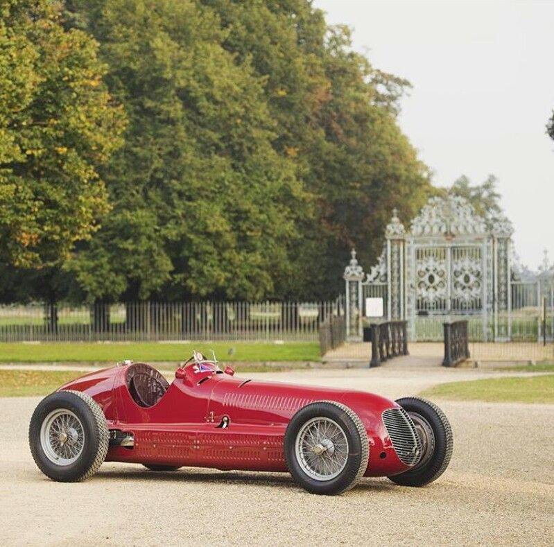 1938 Maserati monoposto 8ctf Maintenance/restoration of old ...