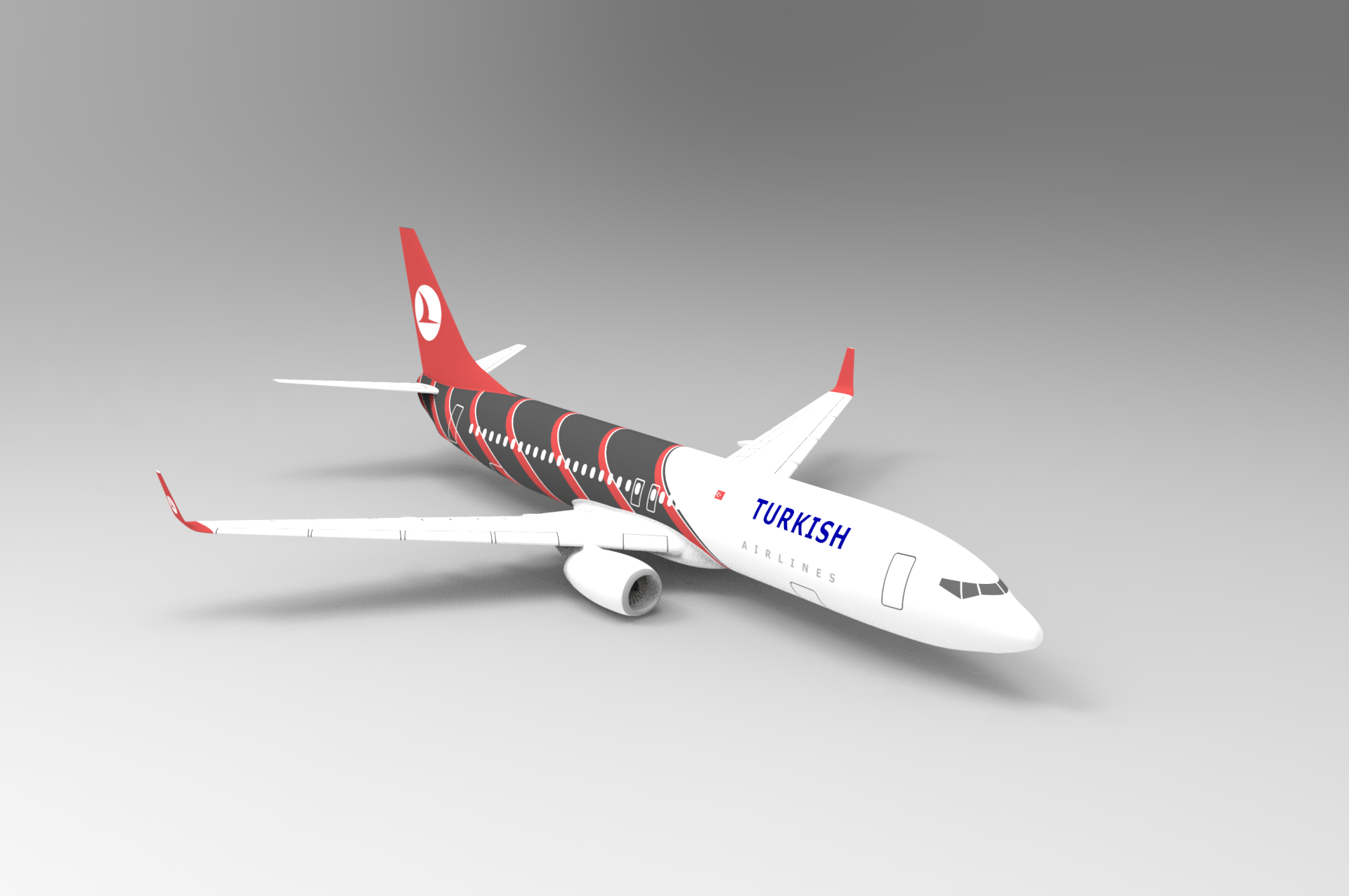 boeing 737 800 used solidworks for drawing and keyshot for rh pinterest com