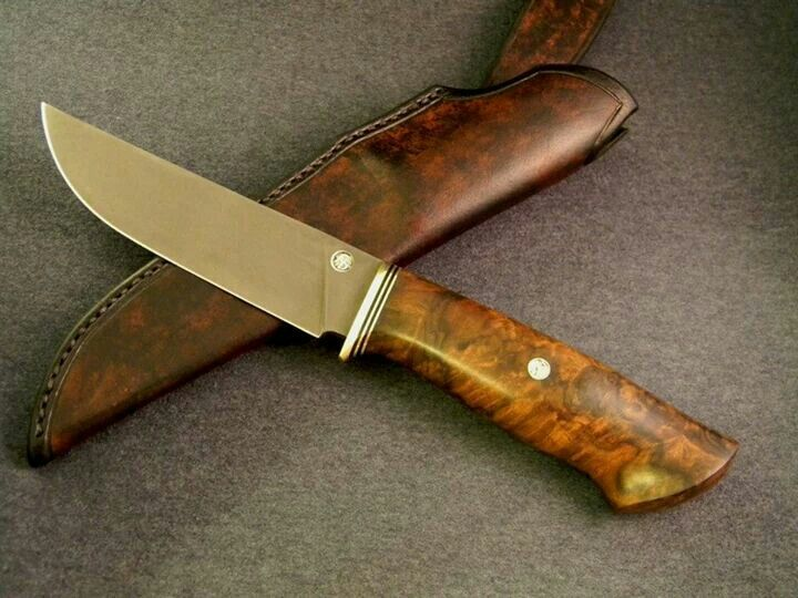 Guskov\'s knife. | Custom Knife (Fixed Blade) | Pinterest | Schmieden ...