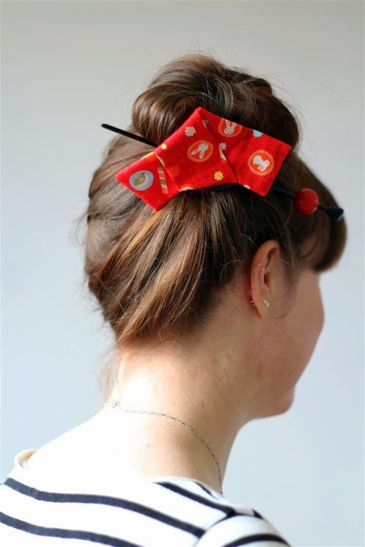 Tutorial Chirimen Tegarami Japanese Hairstyle Geisha Hair Hair Knot