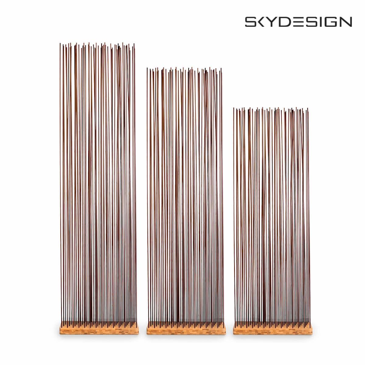 Sichtschutz Braun Basis Bambus Raumteiler Regal Braun Ikea