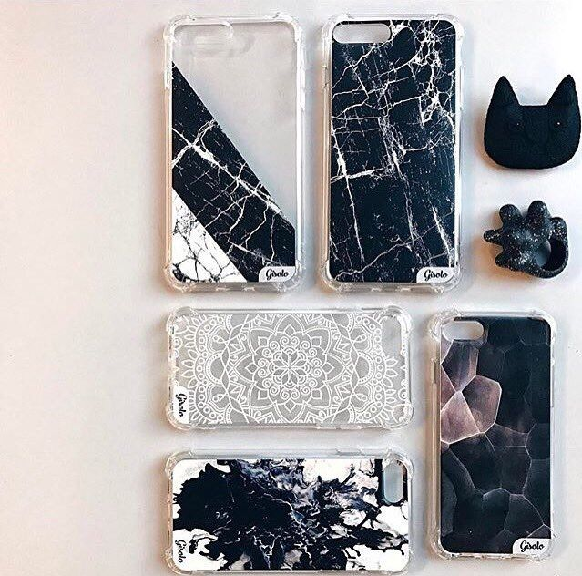 Black and white marble white marble dark marble white mandala brown wood high quality case high level of protection https://gisolo.com/en/