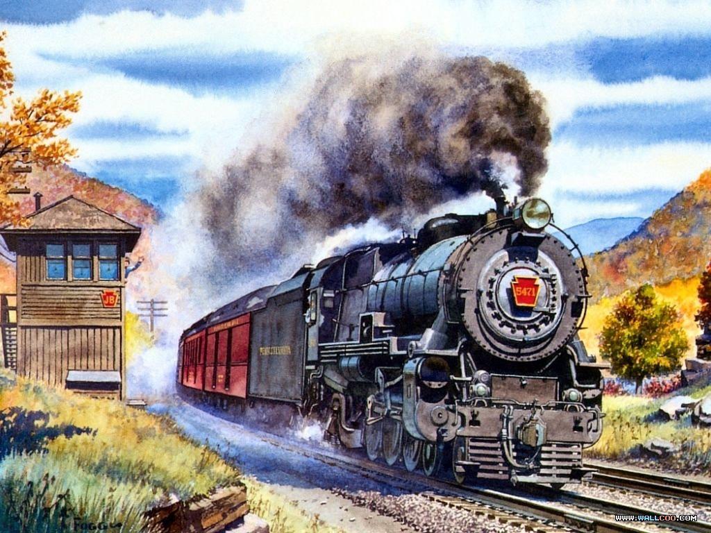 steam locomotive hd wallpapers - photo #28