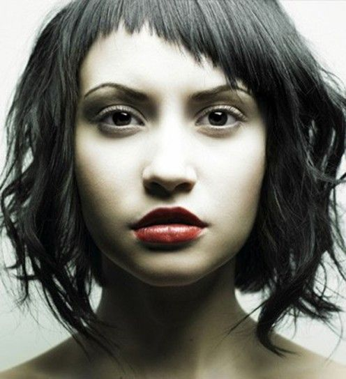 Taglio capelli per viso asimmetrico