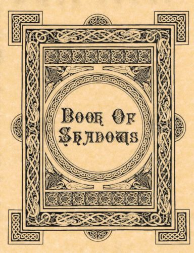 Book-of-Shadows-Cover-or-Title-Page-BOS-Page-Wicca-Poster-Witchcraft