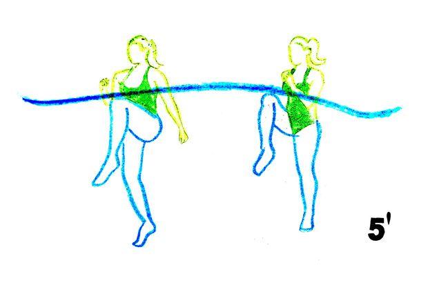 25461a561 Tabla de ejercicios para hacer en la piscina   Random Me   Tabla de ...