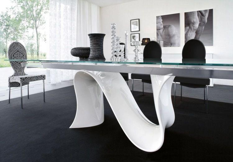 Mobilier de salon blanc \u2013 idées de déco et aménagement Salons