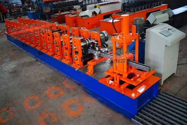 #Supermarket #Shelves #Steel #Frame #Roll #Forming #Machine consists of feeding, forming, after molding, products smooth appearance beautiful appearances, uniform lacquer veins, high strength, durable, widely used in industrial and civil buildings.