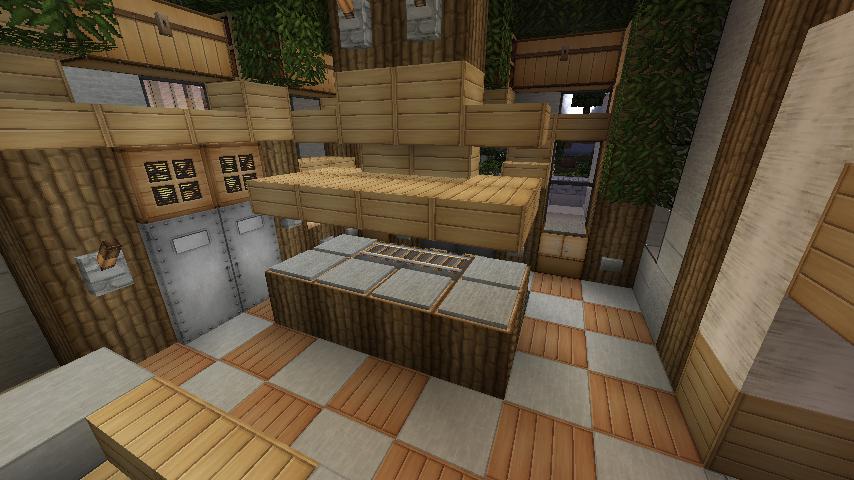 #minecraft #kitchen   Minecraft, Minecraft building